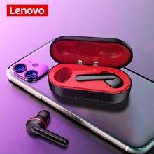 سماعة لينوفو HT28 TWS بلوتوث لاسلكية حقيقية 5.0 ، سماعة أذن بجهير عميق ، سماعات أذن ستيريو عالية الدقة مع خاصية إلغاء الضوضاء ، سماعة MP3 للميكروفون