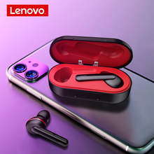 Lenovo HT28 TWS True Wireless Bluetooth 5.0 Earphone Deep Bass Earbuds HD Stereo In Ear Noise Cancelling MP3 Headset For Mic