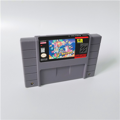 Super Bomberman 1 2 3 4 5 tarjeta de juego de acción versión US