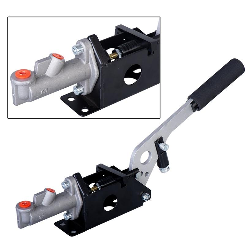 Frete grátis alumínio universal carro de corrida alavanca do freio de mão hidráulico deriva freio de mão e-brake