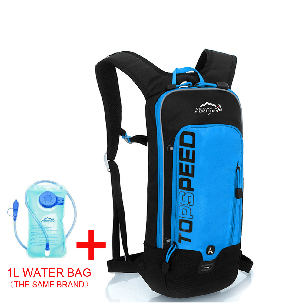 Blue with 1L bag