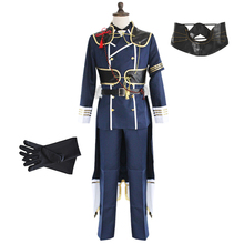 The Sword Dance Touken Ranbu Cosplay Nakigitsune Costume Mens Wear Battle Suit Fancy Dress