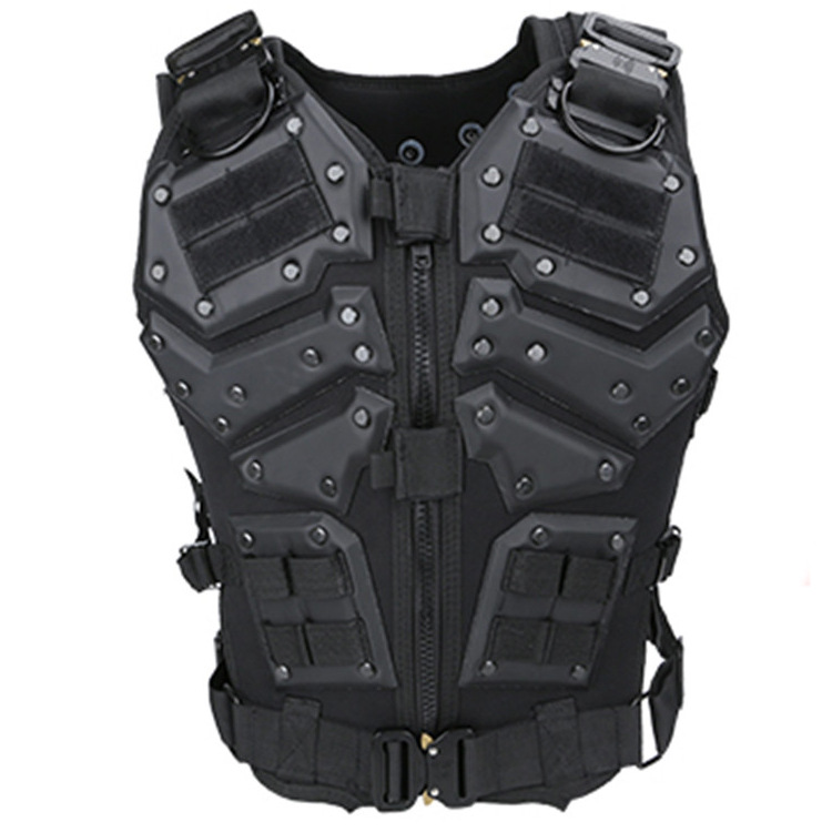 Security Police Protective Vest Special Forces Tactical Vest Outdoor CS Combat Protective Tactical Uniform Military Equipment