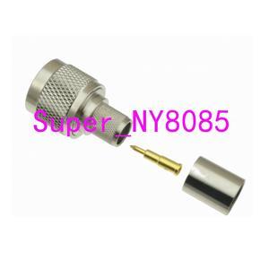 Image 3 - 10 stücke Stecker N männlichen Stecker crimp RG8 RG213 RG165 LMR400 7D FB kabel gerade