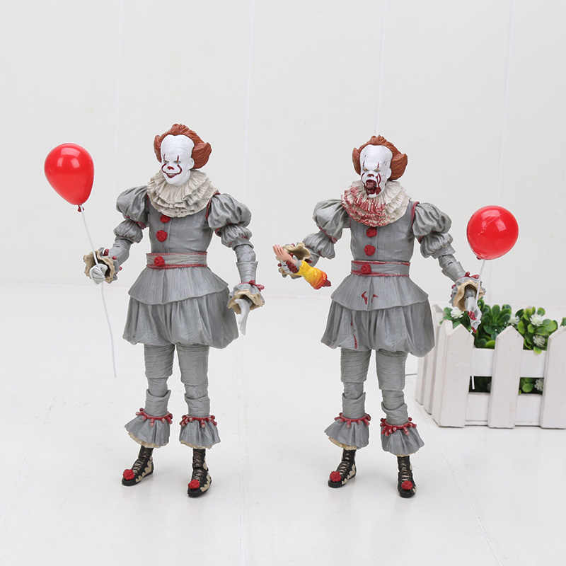 Film It: chapitre deux Pennywise Cosplay figurine d'action NECA Stephen King's It Pennywise Clown modèle à collectionner jouet d'halloween