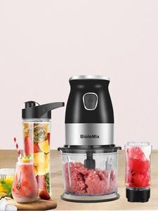 Mixer Bowl Bottle Chopper 600ml-Juicer Food-Processor Meat-Grinder Personal-Blender Baby