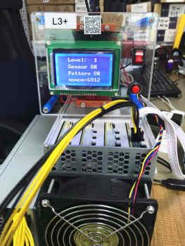 LTC górnik urządzenie testowe L3 + płyta hash tester naprawa chip BM1485 z przewodnikiem użytkownika wideo tanie i dobre opinie NBTC Brak CN (pochodzenie) Test Fixture 12V 3A