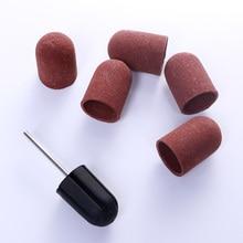Педикюр 5 шт. многоразмерная электрическая шлифовальная насадка для полировки ногтей специальный инструмент для шлифования ногтей искусство сверла DIY инструмент для ногтей