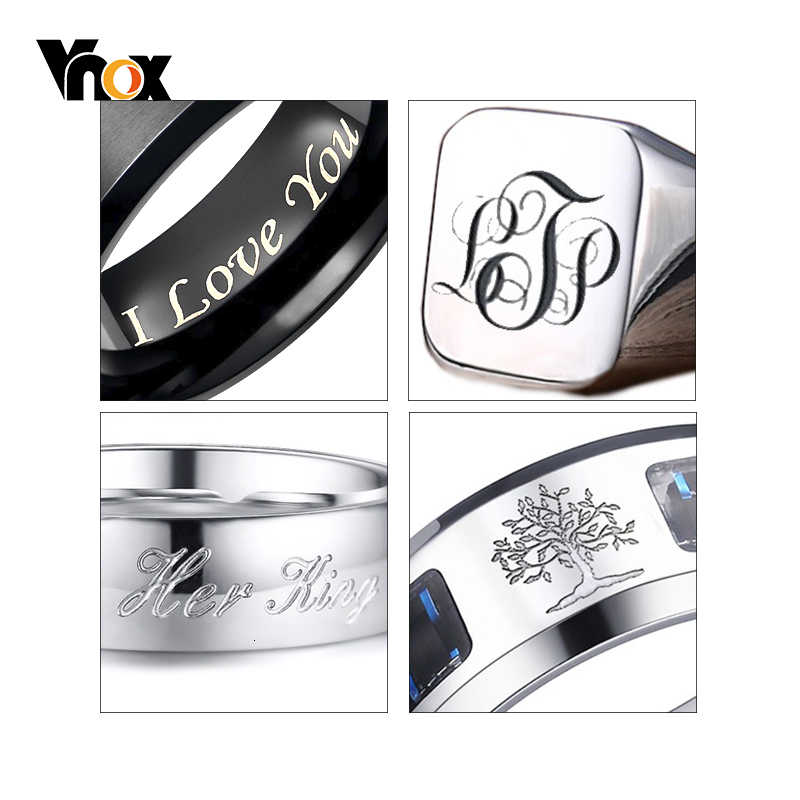 Paying for RING Engrave Service , Only for Personalized Customize Write Record Name Words Date