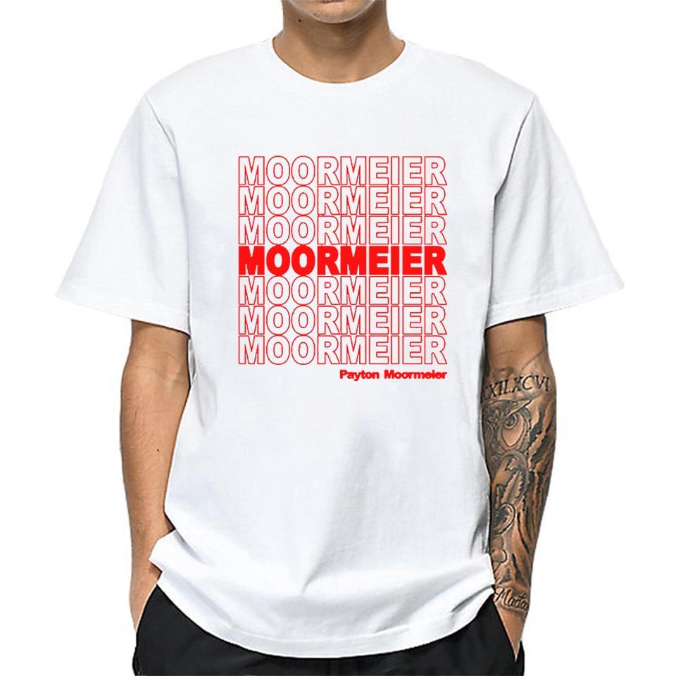 Streetwear T Shirt Payton Moormeier Tee Tops Shirt Men Boys T Shirt Short Sleeve Shirt Oversized T Shirt For Male Boyfriend Gift
