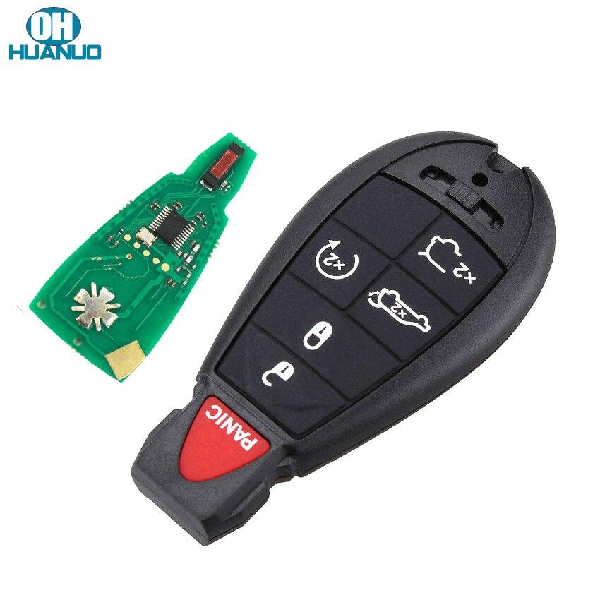 6/5 + 1 кнопочный дистанционный ключ брелок 434/433 МГц ID46 чип PCF7941 для Chrysler Dodge