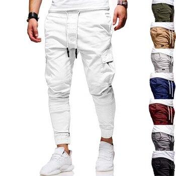 Men Pants thin New Fashion Casual  Jogger Pants  Fitness Bodybuilding Gyms Pants Sweatpants Trousers
