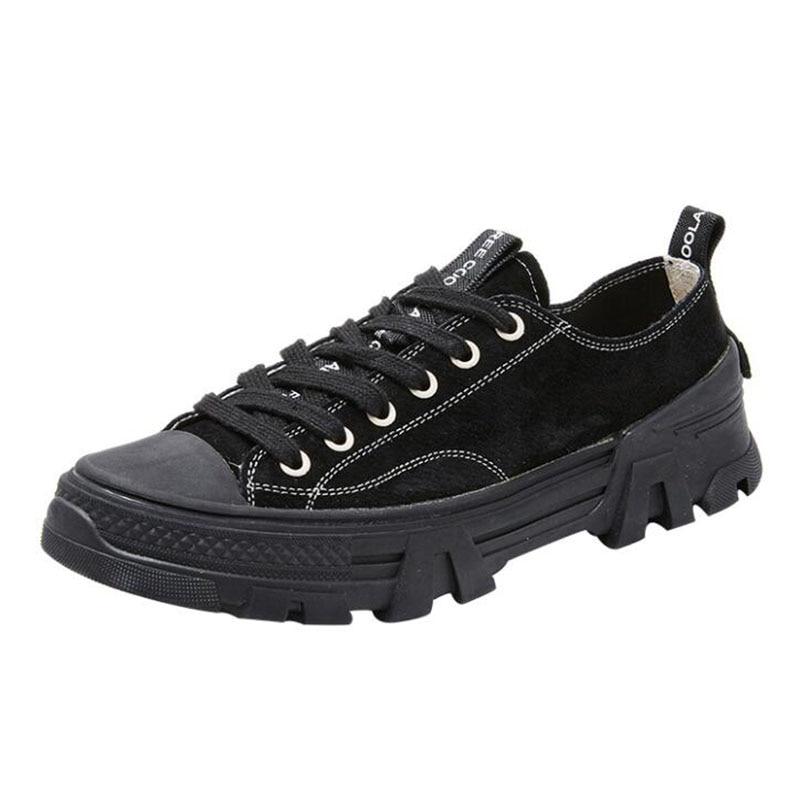 Vulcanized Shoes Women Canvas Sneakers
