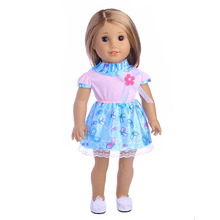 15 style American doll accessories dress for 18-inch American doll and 43cm baby doll clothes, the best gift for children princess dress american doll clothes and accessories fits 18 american girl dolls for christmas gift