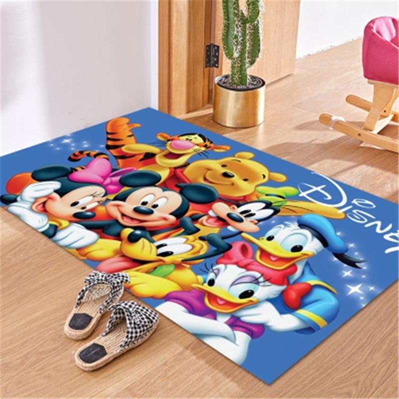 Top SaleBathroom Carpet Doormat Minnie-Mat Kitchen-Mat/rug Pink Girl Playmat Boy Child Absorb-Water