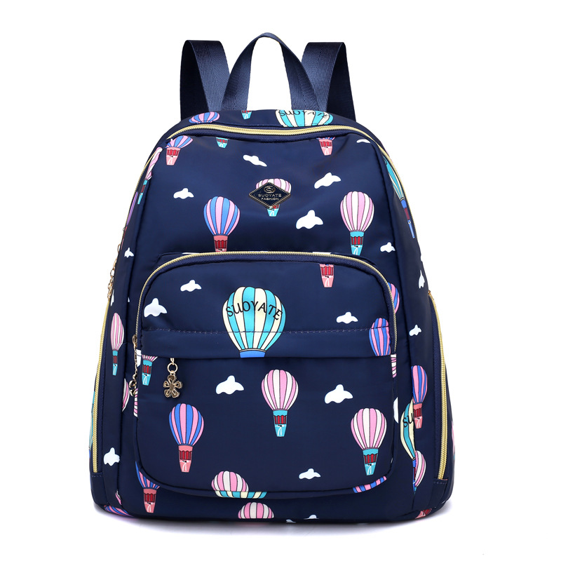 Nappy Bag Mommy Lightweight Backpack  Diaper Nursing Bag Travel  Baby Nursing Bags Fashion Printing Multifunction  BXY155