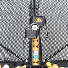 HUIPANG JT A שולחן טניס רובוט/מכונה קל להרכיב מוצרים לאימון רב תכליתי כדורי מיחזור מתאים 40 + כדורי