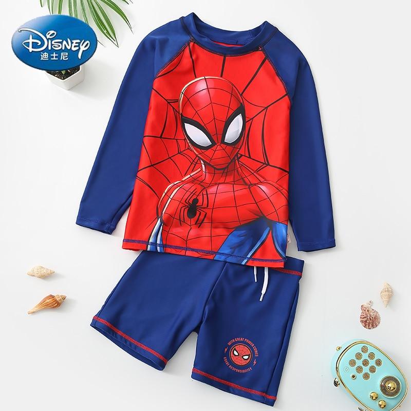 Original Disney Children Spiderman Swimsuit Boys Swimwear Kids Baby Swimwear Boys Swimwear SW200320