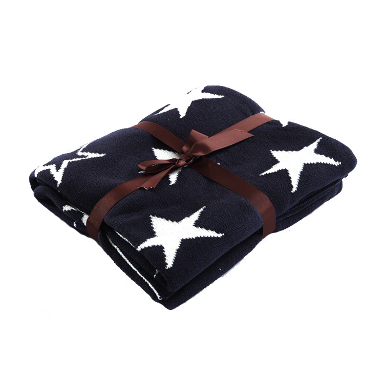 Baby Blanket Processing Autumn And Winter Baby Blanket Baby Cartoon Version Blanket Knitted Air Conditioner Blankets And Other