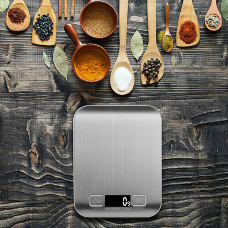 Electronic Food Scales Diet Scales Measuring Tool Slim Digital Baking Weighing Scale Household Kitchen Supplies
