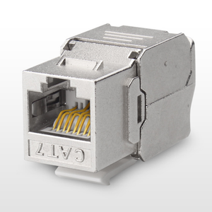 Image 2 - 12/24pcs RJ45 Keystone Cat7 Cat6A Shielded FTP Zinc Alloy Module Network Keystone Jack Connector Adapter 10GB Network