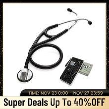 Profesyonel stetoskop kardiyoloji kalp doktor stetoskop doktor tıbbi stetoskop tıbbi ekipman tıbbi cihaz öğrenci
