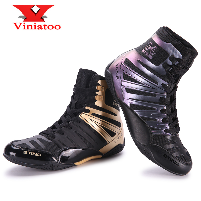 New Professional Wrestling Shoes Men Big Size 38-46 High Quality Boxing Shoes Outdoor Anti Slip Wrestling Sneakers Mens Shoes