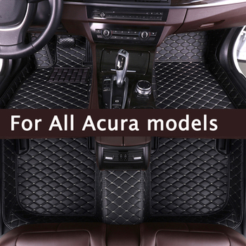 MIDOON Car floor mats for Acura MDX RDX RL TL TLX ZDX 2006 2007 2008 2009 2010 2011 2012 2013 14Custom auto foot Pads automobile
