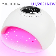 Nail-Dryer Manicure Lcd-Display Curing Uv Led Smart-3.0 Ce for Motion-Sensing Touch-Switch