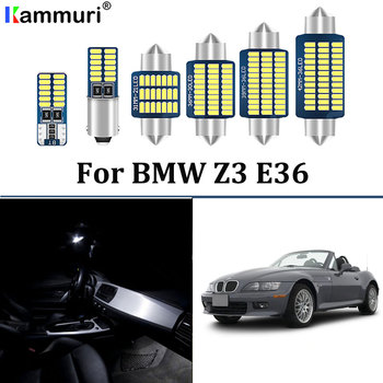8pcs canbus Error free LEDInterior dome map Lights bulb Kit for BMW Z3 E36 sDrive roadster coupe convertible (1996-2002) image