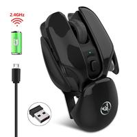 BEESCLOVER T37 2.4G Wireless Mouse Max 1600DPI 2.4G Optical Computer Gaming Mouse for Windows Mac Desktop Computer Notebook d30 Mice     -