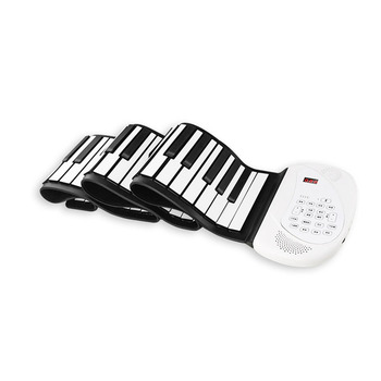 Roll-Up Piano Portable Electronic Music Instrument Hand Roll Piano  Silicone Keyboard Horn 88 Keys Bluetooth Microphone Beginner electronic organ 61 keys electronic portable silicone flexible hand roll up piano built in speaker midi out keyboard organ
