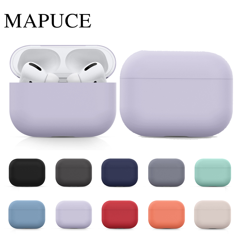 Airpods Pro Case | Silicone Case For Airpods Pro Case Wireless Bluetooth For Apple Airpods Pro Case Cover Earphone Case For Air Pods Pro 3 Fundas