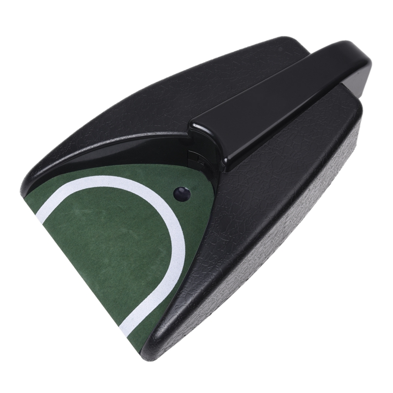 TOP!-Battery-Operated Auto Return Putting Mat Golf Practice Cup