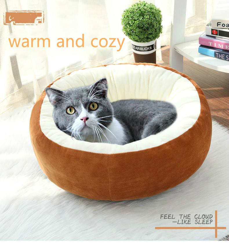 Супер мягкое постельное белье для домашних животных домик кошек