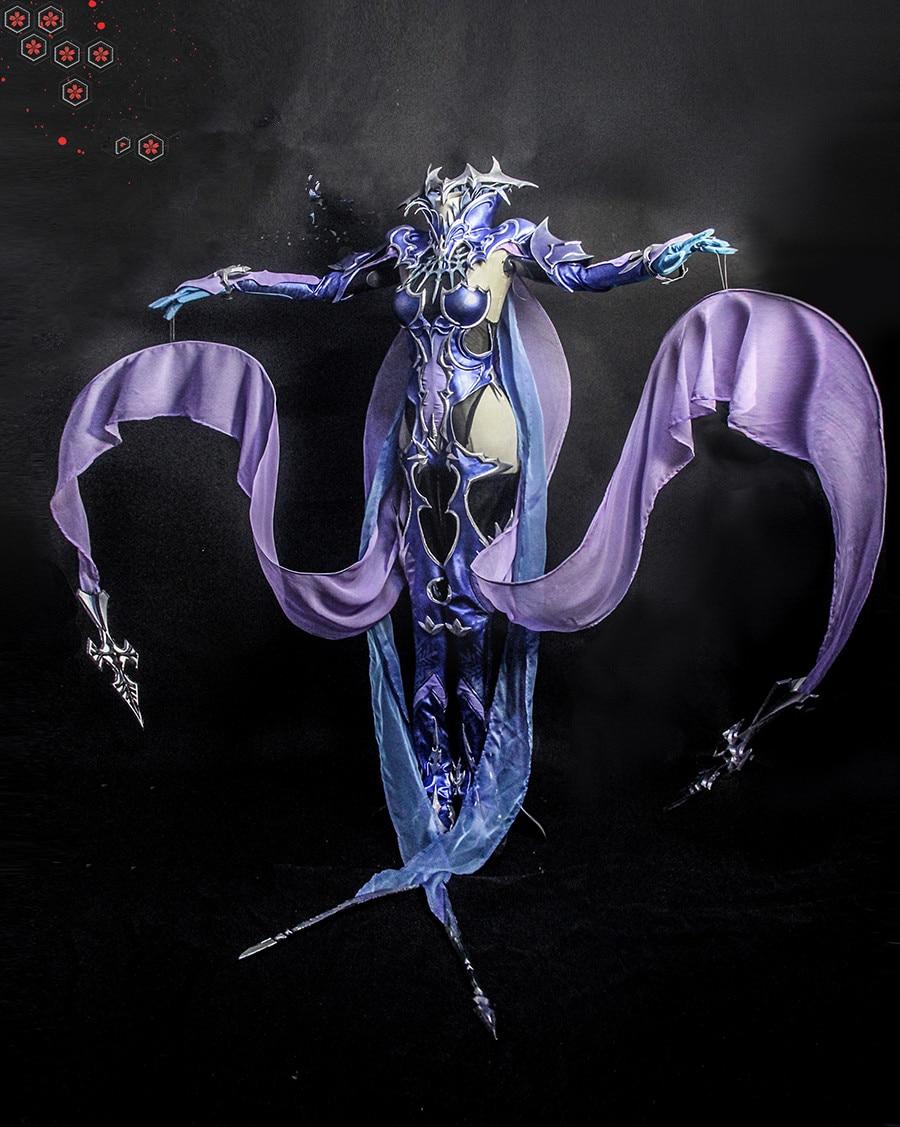 Final Fantasy Xiv Dreams Of Ice Ff14 Shiva Cosplay Costume Full