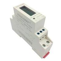 1 p medidor de energia rs485 modbus rut instalação trilha de energia inteligente kwh medidor de energia quilo watt medidor de hora