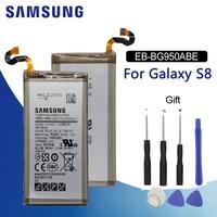Bateria de telefone original samsung  bateria de EB-BG950ABE mah para samsung galaxy s8 g950 3000 g9508 g9500 g950u g950f