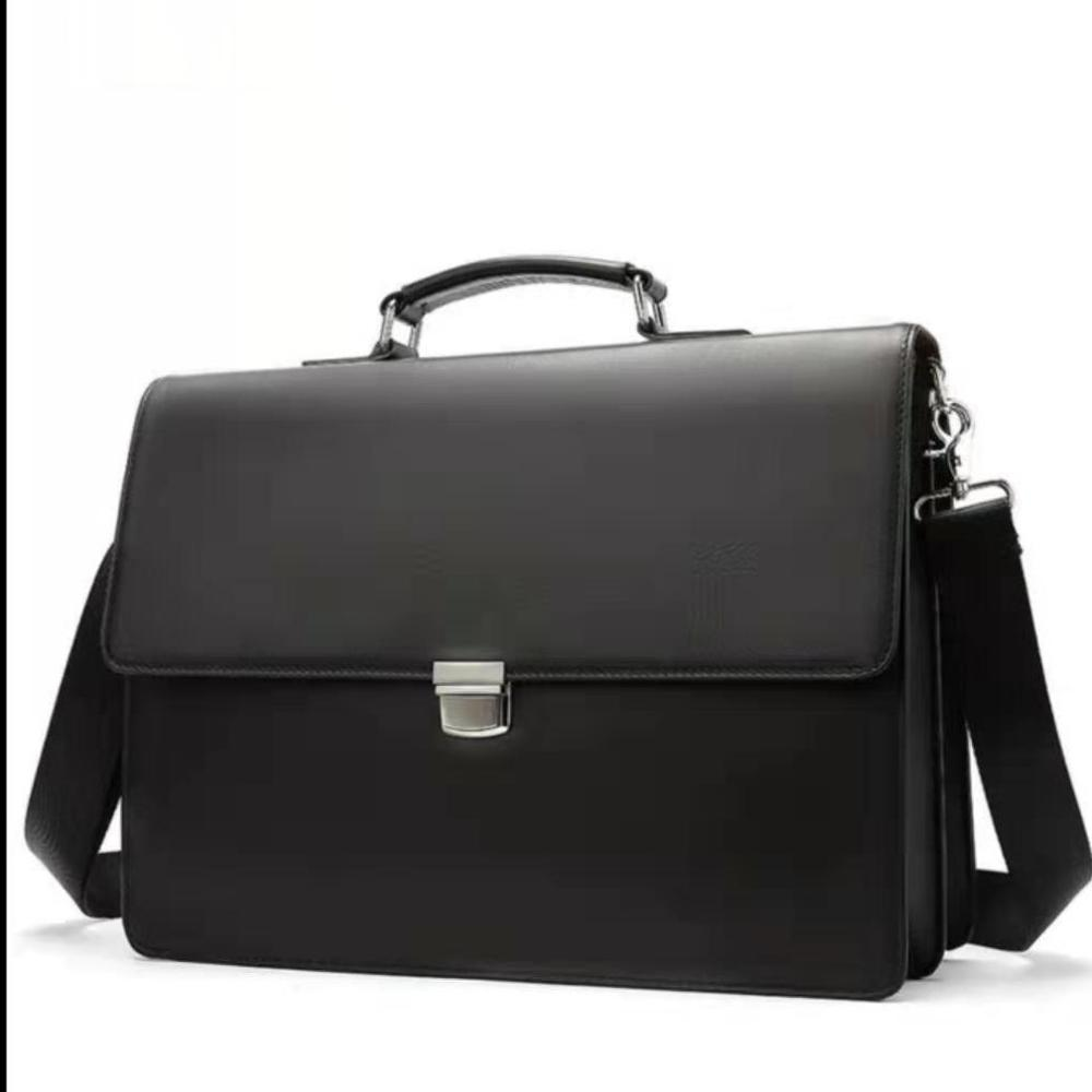 YICIYA Men's Briefcases Laptop Bag Leather Bag Genuine Leather Lawyer/Office Bags For Document/Computer Bags Briefcase