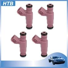 4 قطعة عالية الجودة حقن الوقود ل النيون كرايسلر PT كروزر 2.4L توربو 2003 0280156030 04852747AA فوهة حقن