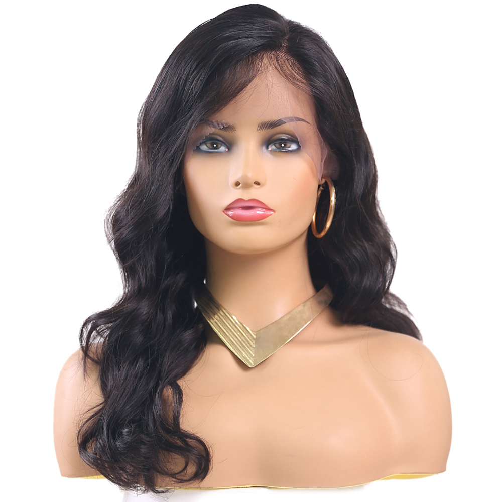 Body Wave 13x4 Lace Front Human Hair Wigs For Women Euphoria Natural Color Brazilian Remy Human Hair Lace Wig With Baby Hair