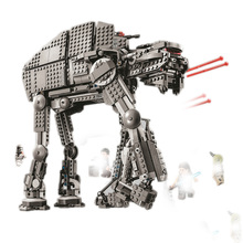 Bela 10908 Series First Order Heavy Assault Walker Building Block Bricks Compatible With 75189 For Chidlren цена