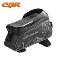 New Style CBR Bike Bag Front Bag Touch Control Mobile Phone Bag on Tube Saddle Beam Bag Bicycle Riding Kits