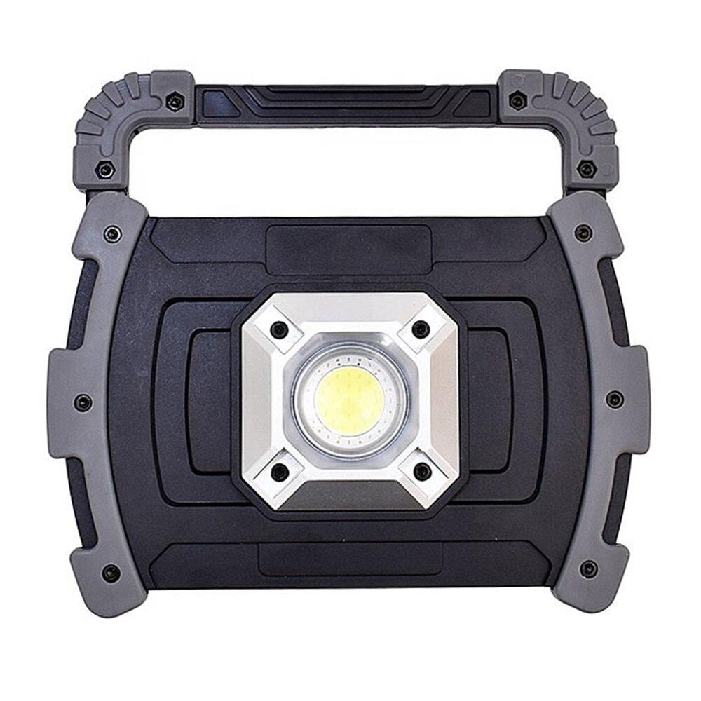 Портативный Перезаряжаемый внешний аккумулятор Предупреждение ющий COB светодиодный рабочий свет