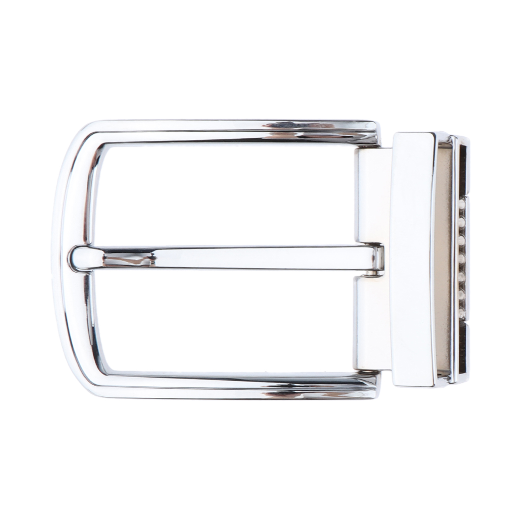 Classic Single Prong Alloy Rectangular Belt Buckle Replacement Casual Business Belt Buckle Belt Accessories Clamp Pin Buckle