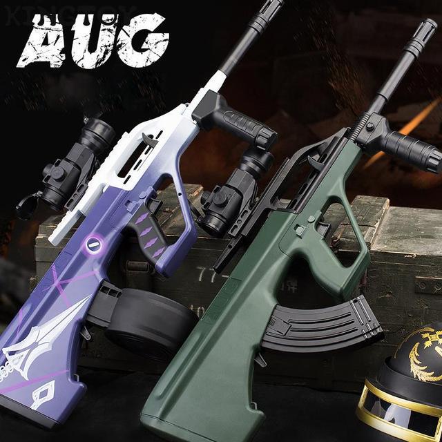 AUG Airsoft Manual +electric BB Or Gel Airsoft Gun Safety Cs Shooting Game Paintball Airsoft Air Guns 3