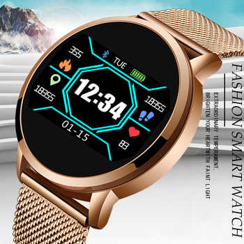 LIGE 2020 Neue luxus Smart armband Männer Frauen Smart Band LED Herz Rate Monitor Blutdruck Fitness tracker Sport Uhr + box