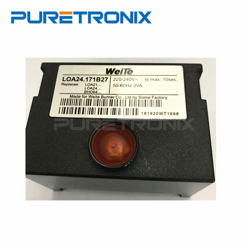LOA24.171B27 Programmable Controller Mechanical Type Front Inspection For Diesel Burner