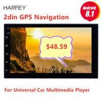 Harfey 7 Universal Autoradio 2 din radio coche Android 8.1 GPS car radio For Nissan VW Toyota Kia rio Hyundai Suzuki Honda