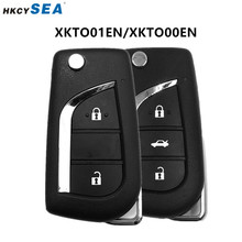1/5/10 pçs xhorse vvdi2 universal fio remoto chave do carro 2/3 botões para o estilo toyota vvdi chave ferramenta max xkto00en/xkto01en